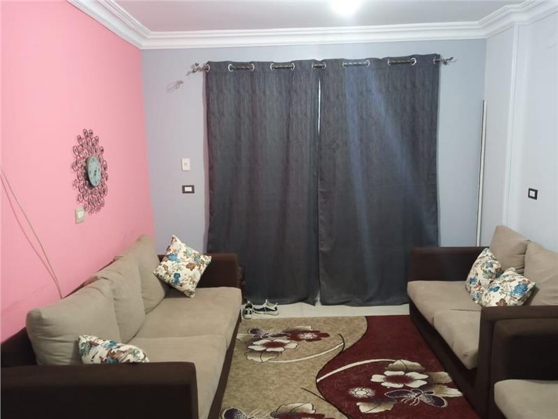 شقة للايجار مفروش فى مدينتى 96 م2 كود 21286