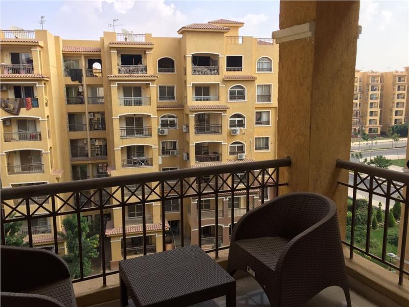 شقة للايجار مفروش فى مدينتى 107 م2 كود 34729