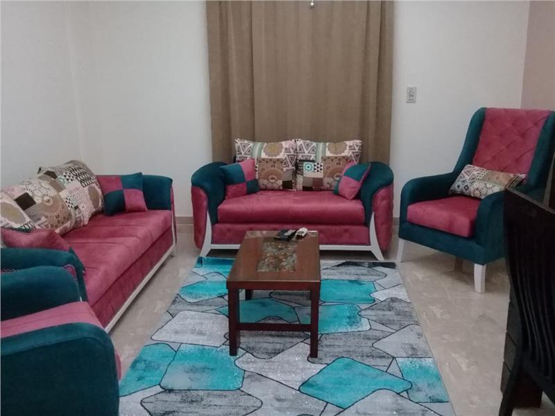 شقة للايجار مفروش فى  الرحاب 90 م2 كود 35606