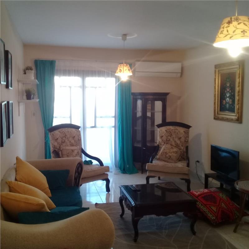 شقة للايجار مفروش فى  الرحاب 90 م2 كود 9619